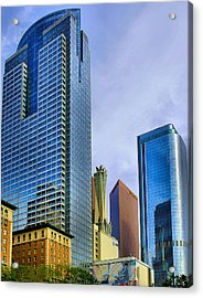 La Skyline Acrylic Print by Joseph Hollingsworth