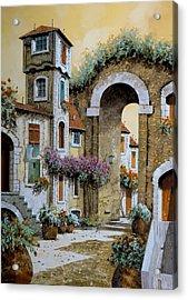 La Torre Acrylic Print by Guido Borelli