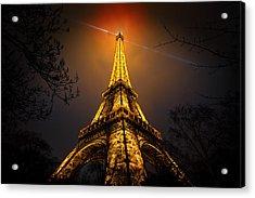 La Tour Eiffel Acrylic Print by Clemens Geiger