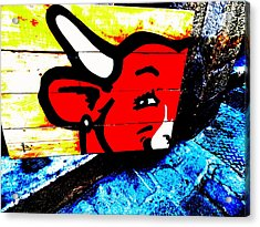 La Vache Qui Rit Art  Acrylic Print