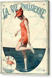 La Vie Parisienne 1910s France Georges Acrylic Print