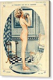 La Vie Parisienne 1918 1910s France Acrylic Print
