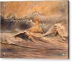 La Vieille Lighthouse Acrylic Print by Juan  Bosco