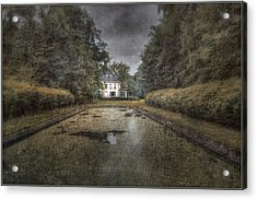 La Villa Abandonnee Acrylic Print