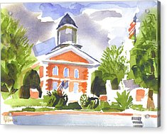 Labor Day Afternoon Acrylic Print by Kip DeVore