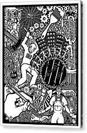 Labor Daze Acrylic Print by Matthew Ridgway