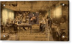 Acrylic Print featuring the photograph Labor Of Love by Ron Crabb