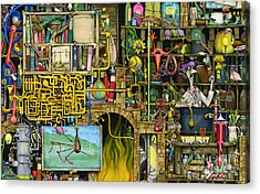 Laboratory Acrylic Print by Colin Thompson
