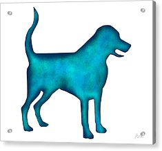 Labrador Retriever Acrylic Print by Laura Bell