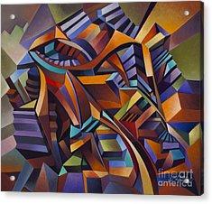 Labrynth II Acrylic Print