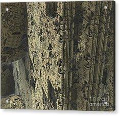 Labyrinth Dimensions 666 Acrylic Print