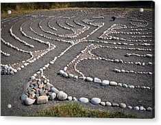 Labyrinth Journey Acrylic Print