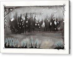 Lac En Cendres Acrylic Print
