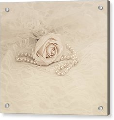Lace And Promises Acrylic Print