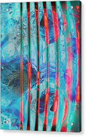 Lacerations Have Wounded  Acrylic Print by Jerry Cordeiro