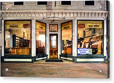Lackey's Drug Store - Stowe Vermont Acrylic Print