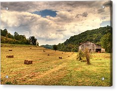Lacy Farm Morgan County Kentucky Acrylic Print by Douglas Barnett