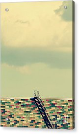 Ladder To Nowhere  Acrylic Print by Trish Mistric