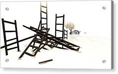 Ladders Acrylic Print