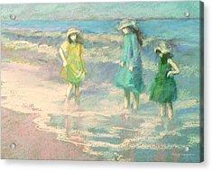 Ladies Day Acrylic Print
