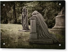 Ladies Of Sorrow Acrylic Print by Tom Mc Nemar