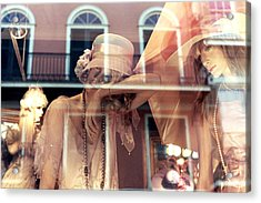 Acrylic Print featuring the photograph Ladies Of The French Quarter by Nadalyn Larsen