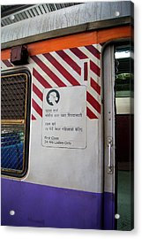 Ladies Only Carriage Acrylic Print by Mark Williamson