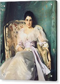 Lady Agnew Of Lochnaw Acrylic Print by John Singer Sargent