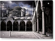 Lady And The Mosque Acrylic Print