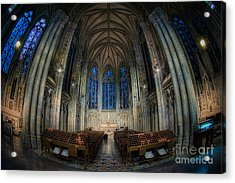 Lady Chapel At St Patrick's Catheral Acrylic Print by Jerry Fornarotto