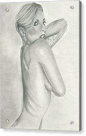 Lady Gaga Acrylic Print by Raquel Ventura