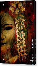Lady Geisha Acrylic Print
