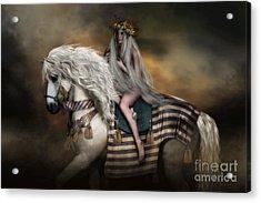 Lady Godiva Acrylic Print by Shanina Conway