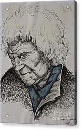 Lady Acrylic Print by Grant Mansel-James
