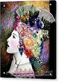 Lady Jane Acrylic Print