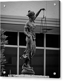 Lady Justice Acrylic Print