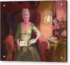 Lady Laura Acrylic Print by J Reifsnyder