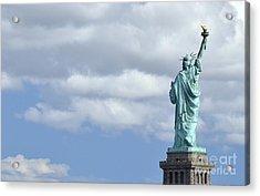 Lady Liberty   1 Acrylic Print by Allen Beatty