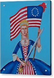 Lady Liberty Acrylic Print