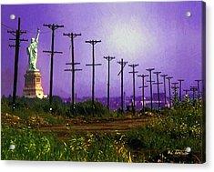 Lady Liberty Lost Acrylic Print