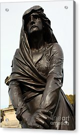 Lady Macbeth In Stratford Out Damned Spot  Acrylic Print by Terri Waters