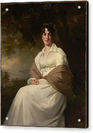Lady Maitland Catherine Connor, Died Acrylic Print