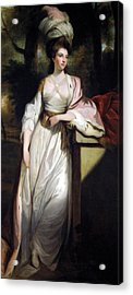 Lady Mary Isabella Somerset Acrylic Print by Robert Smirke