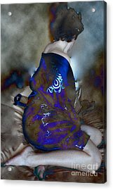 Lady Of Japan Acrylic Print
