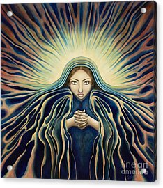 Lady Of Light Acrylic Print by Lyn Pacificar