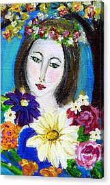 Lady Of Spring Acrylic Print