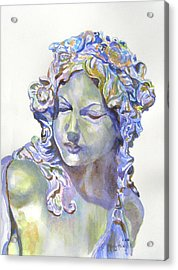 Lady Of Stone Acrylic Print