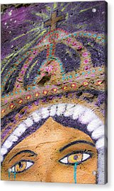 Acrylic Print featuring the photograph Lady Of Tears by Steven Bateson