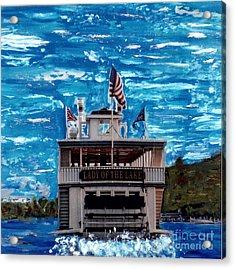 Lady Of The Lake Geneva Lake Wi Acrylic Print by Jane Butera Borgardt