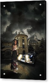 Lady Of The Night Acrylic Print